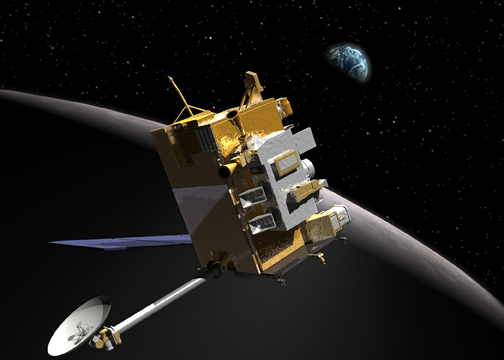 Artist Impression of LRO