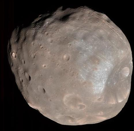 Martian moon Phobos