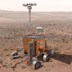 ESA's ExoMars rover. (Courtesy of ESA)