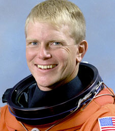 "Former NASA astronaut George ""Pinky"" Nelson"