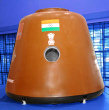 Mockup of India's human spacecraft (Credit: ISRO)