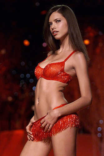 Victoria's Secret Angel Adriana Lima
