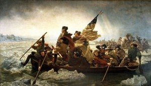 """Washington Crossing the Delaware,"" Emanuel Leutze, 1851"