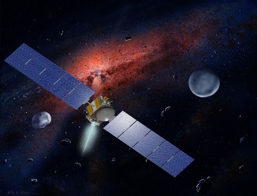Dawn spacecraft (Credit: NASA)