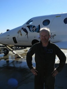 David Mackay (Credit: Virgin Galactic)