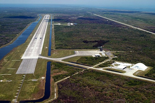 The Shuttle Landing Facility in Florida. (Credit: NASA)