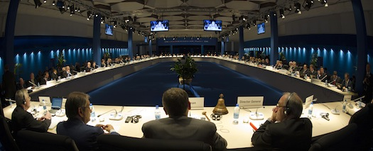 ESA ministerial meeting in Naples. (Credit: ESA)
