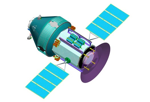 OKA-T spacecraft (Credit: RSC Energia)