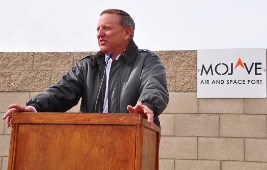 Mojave Air and Space Port CEO Stu Witt (Credit: Bill Deaver)