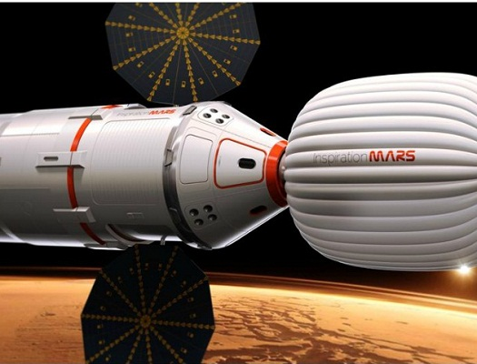 Inspiration Mars Vehicle