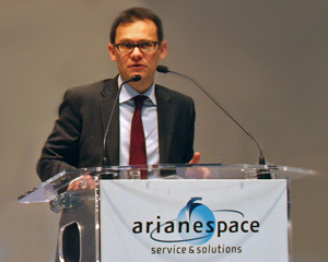 Stephane Israel (Credit: Arianespace)