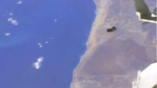 Arusat deployed from the International Space Station.