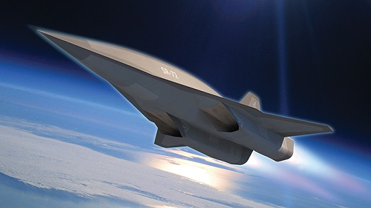Artist's conception of SR-72. (Credit: Lockheed Martin)