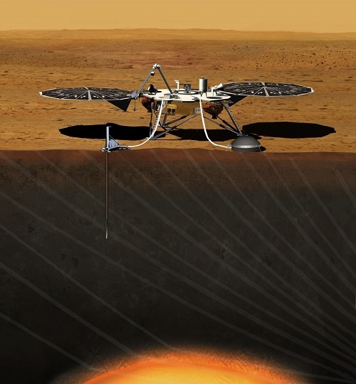 Mars InSight lander (Credit: NASA)