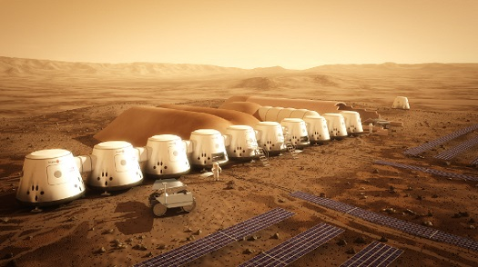 Mars colony (Credit: Mars One)