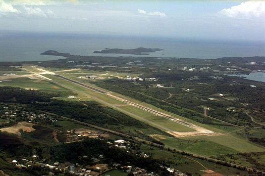 Airport at the former Roosevelt Roads naval base.
