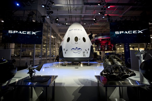 Dragon Version 2. (Credit: SpaceX)