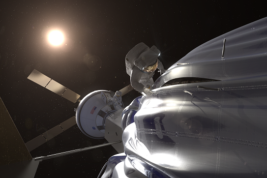 Asteroid Retrieval Mission (Credit: NASA)