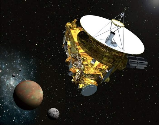 New Horizons spacecraft (Credit: JHUAPL/SwRI)