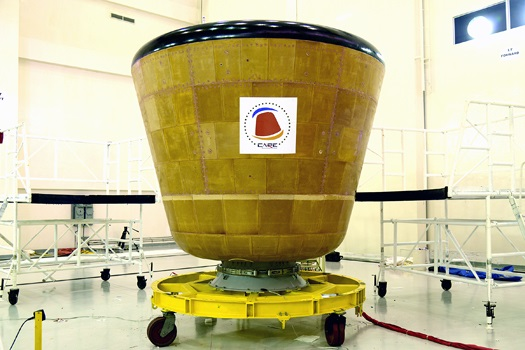 CARE at clean room before its launch. (Credit: ISRO)
