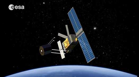 ESA has performed a system study for an Active Debris Removal mission called e.Deorbit. (Credit: ESA)