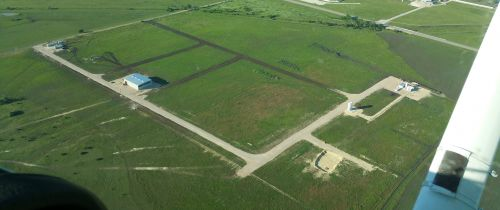 Aerial view of Firefly Test Site in Briggs, Texas. (Credit: Firefly Space Systems)