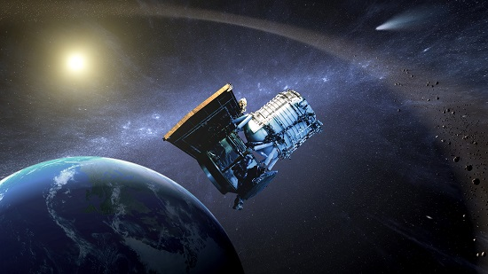 NEOWISE (Credit; NASA)