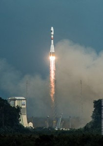 Flight VS13 was the 13th Soyuz liftoff performed from French Guiana since this vehicle's 2011 introduction at the Spaceport. (Credit: Arianespace)