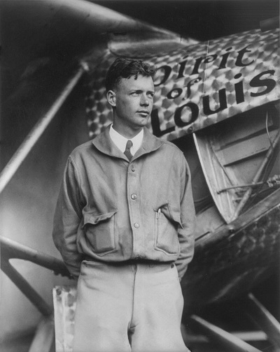 Charles A. Lindbergh (Credit: Library of Congress)