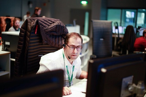 ESA's José Morales is Spacecraft Operations Manager for Sentinel-3A, a Copernicus satellite set for launch in February 2016. (Credit: ESA)