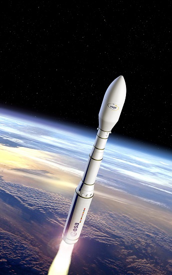Vega C launch vehicle (Credit: ESA)