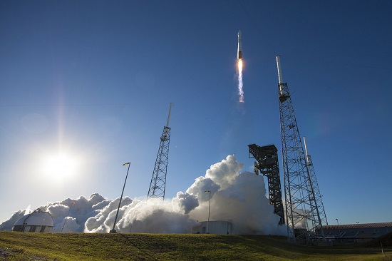 Atlas V launch of GPS IIF-12 (Credit: ULA)