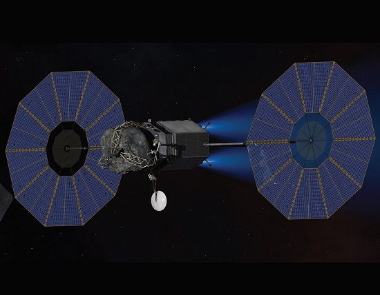 Asteroid Redirect Robotic Mission (Credit: NASA/AMA Studios)