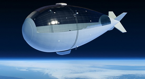 Stratobus vehicle (Credit: Thales Alenia Space)