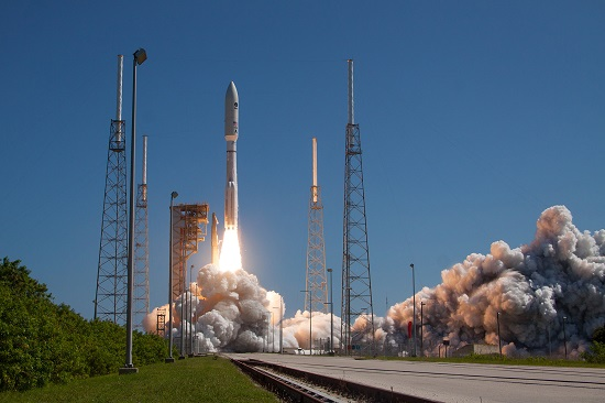 Atlas V liftoff (Credit: ULA)