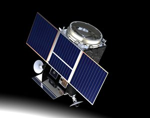 Lunar Pathfinder mission (Credit: SSTL)