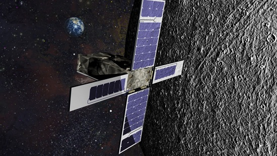 SkyFire's new infrared technology will help NASA enhance its knowledge of the lunar surface. (Credit: Lockheed Martin)