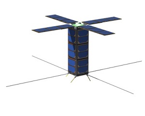VESTA nanosat (Credit: Surrey Satellite)