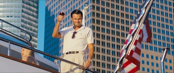 Leonardo DiCaprio as Jordan Belfort in The Wolf of Wall Street. (Credit: Red Granite Pictures)