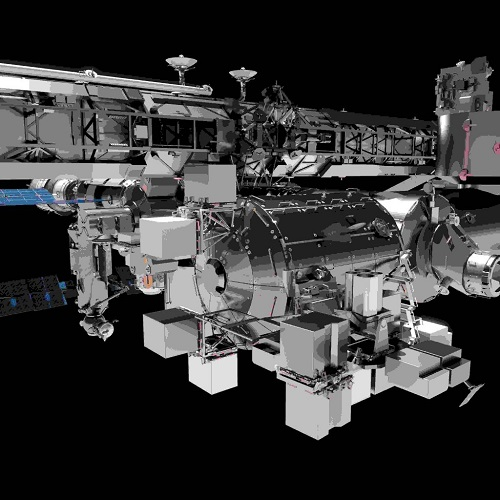bartolomeo platform on ISS. (Credit: Airbus Defence and Space)