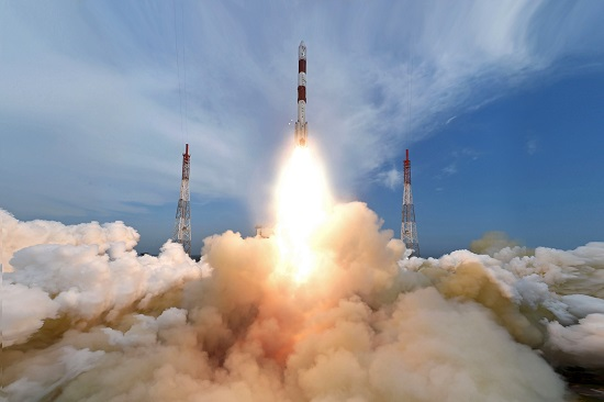 PSLV-C35 launch (Credit: ISRO)
