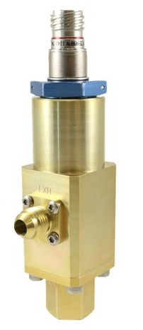 TS-60S Solenoid Piloted Poppet Valve (Credit: Triton Space Technologies)