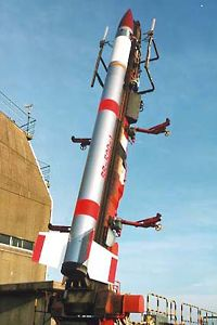 JAXA SS520 sounding rocket. (Credit: JAXA)