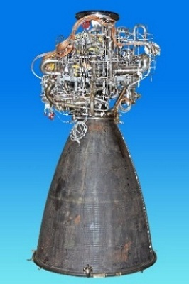 CE20 flight engine for GSLV MKIII (LVM3)-D1 mission. (Credit: ISRO)